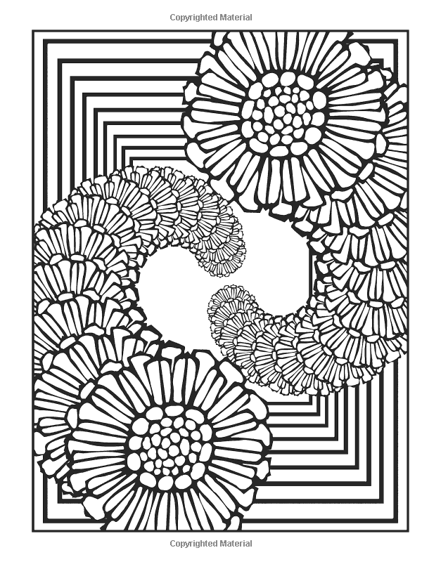 Fractal Coloring Pages Printable - Coloring Home | 800x600