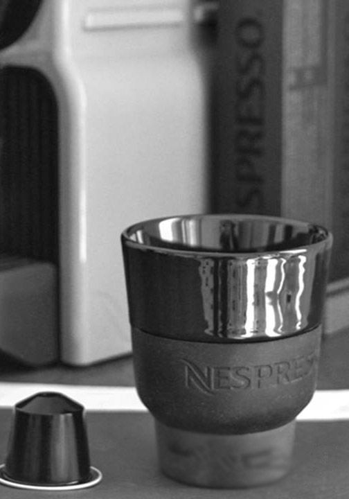 nespresso touch collection the sleek and modern design behind these cups will enhance any. Black Bedroom Furniture Sets. Home Design Ideas