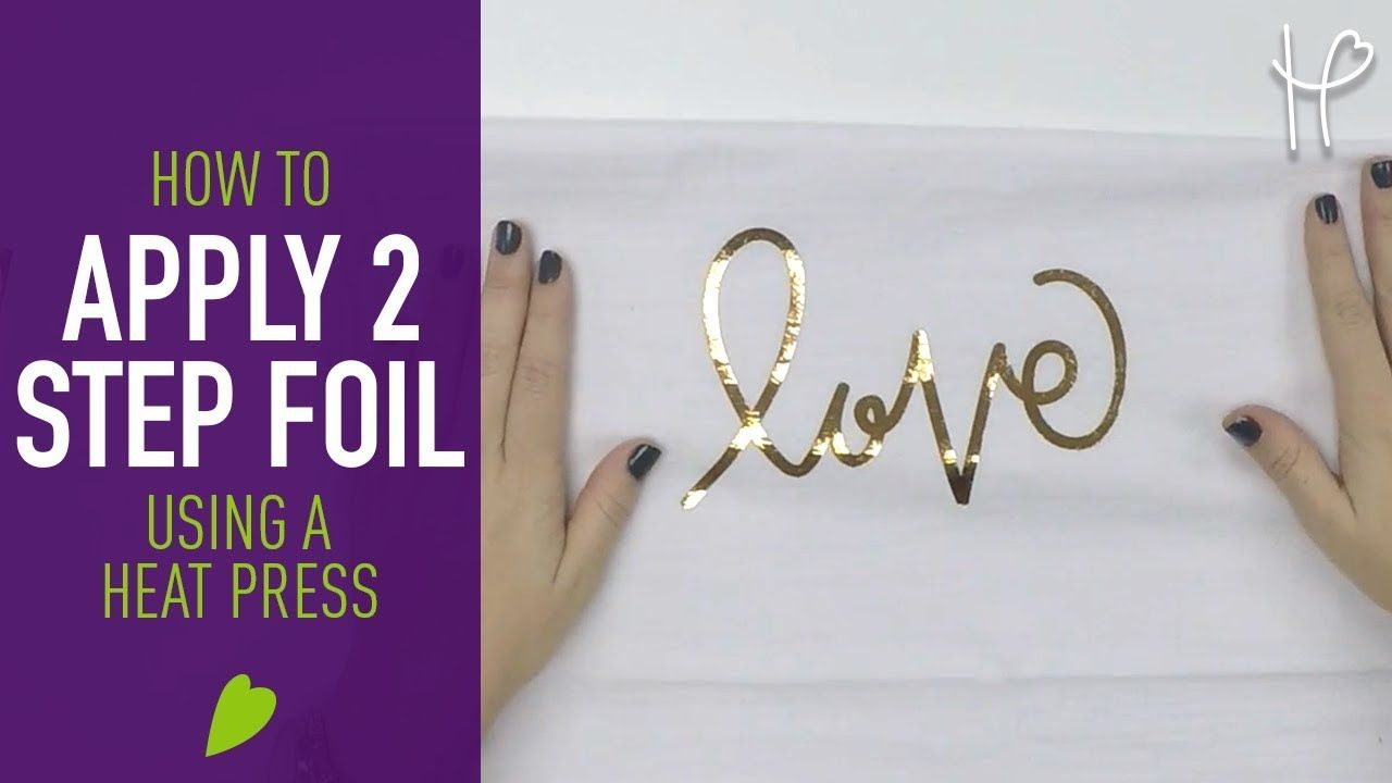 How to apply heat transfer foil adhesive adhesive