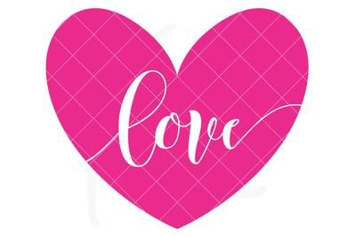 Download Love Heart SVG File for Valentine's Day   Kelly Lollar ...