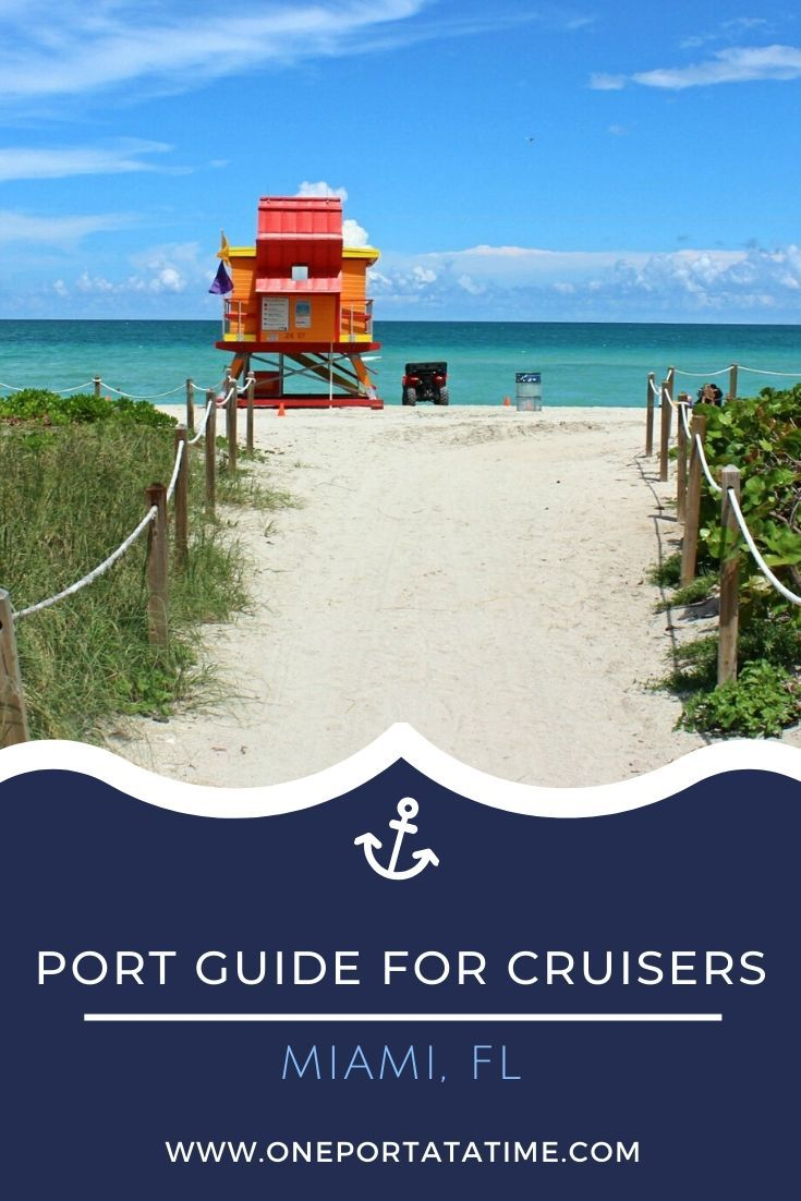 Everything you need to know when cruising from the port of Miami, Florida. This cruise port guide includes terminal location, passenger and luggage drop off instructions, currency and other money matters, how to get around the city, weather forecasts, and events, dining, and shopping options near Miami's cruise terminal.  #cruise #cruises #cruisetravel #cruising #cruiseportguide #miami #florida #USA