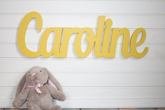 Baby name wall Plaque Large Personalized nursery name baby name wall ...