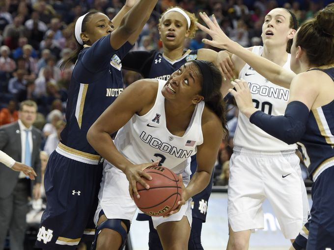 Uconn Holds Off Notre Dame To Claim 10th National Title Uconn