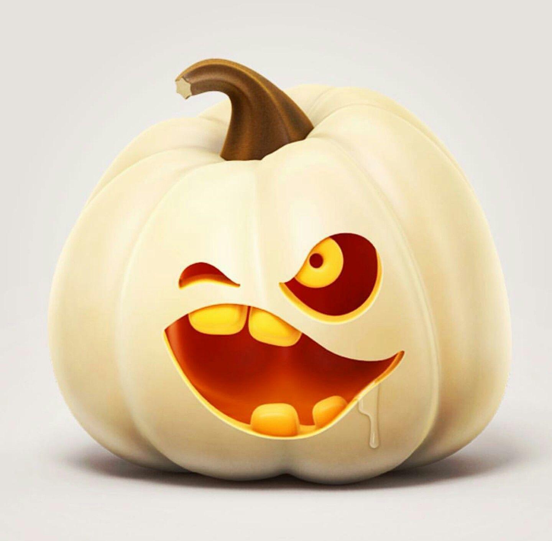 Jack Olantern  #Halloween #Pumpkin #Pumpkins #Pumpkinart #Pumpkincarving #Jackolantern #Whitepumpkin