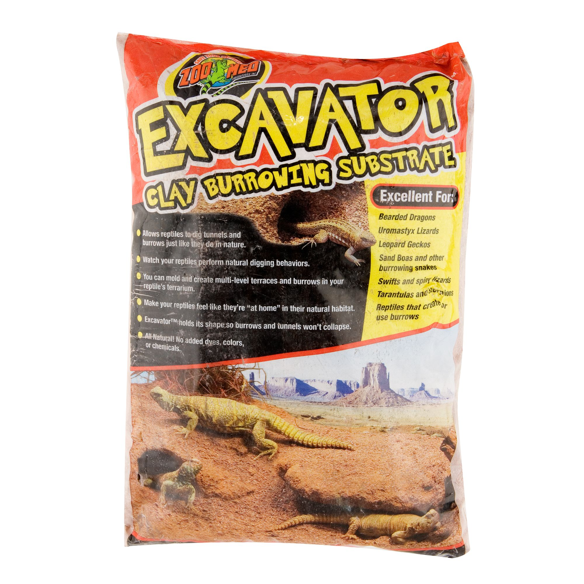 Zoo Med™ Excavator® Burrowing Reptile Substrate Reptiles