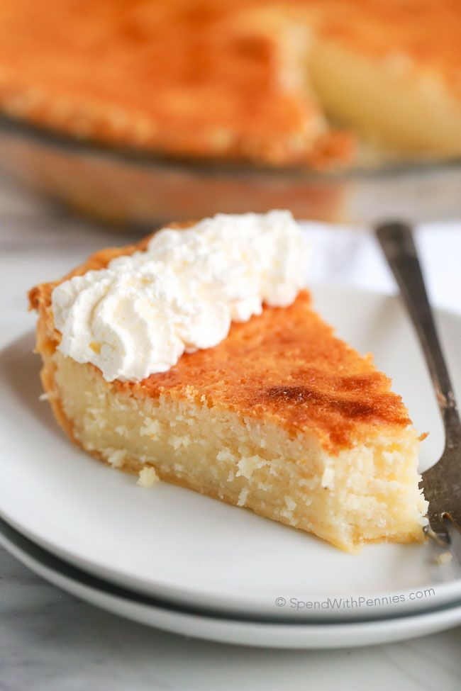 Buttermilk Pie Spend With Pennies Buttermilk Pie Recipe Delicious Pies Eat Dessert