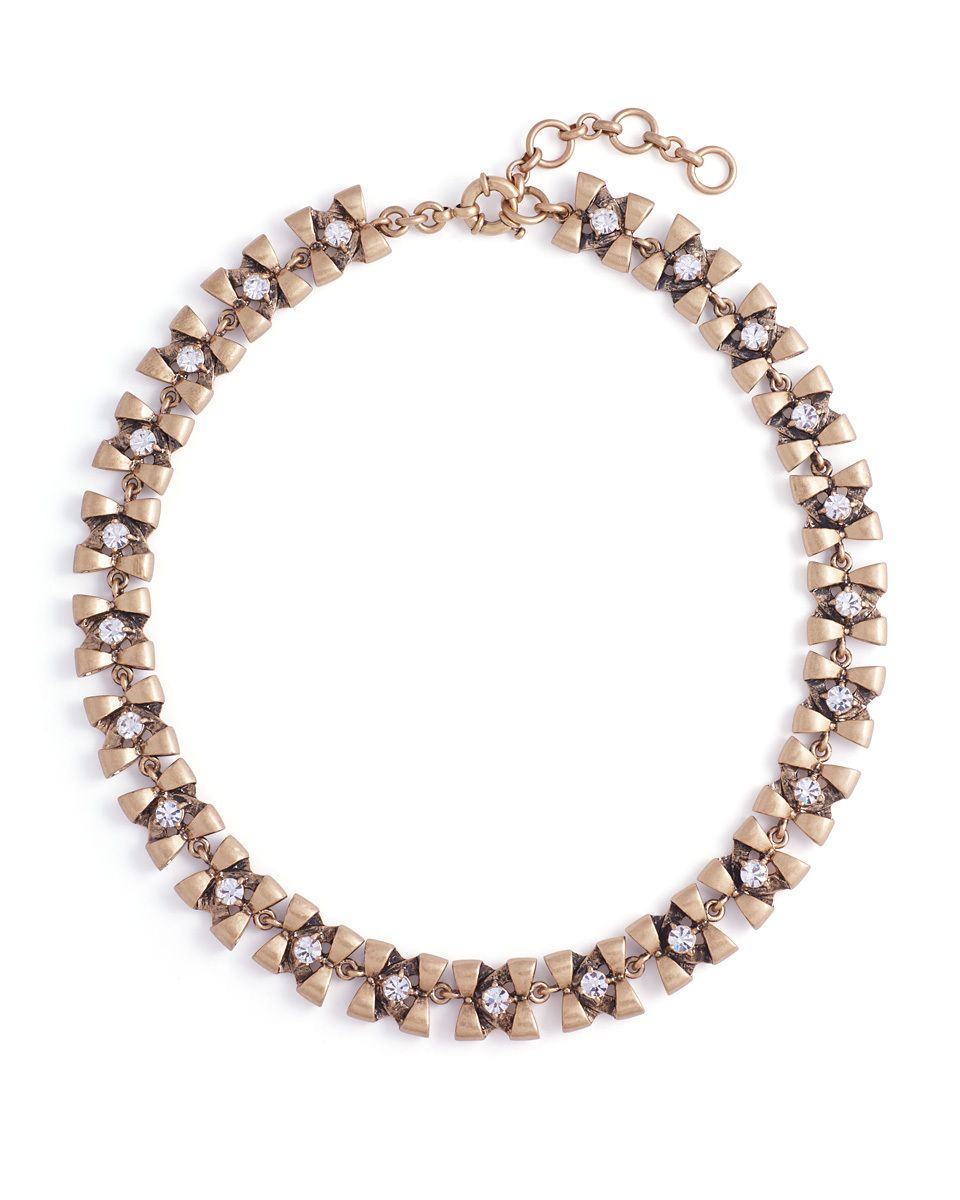 Petite Bow Necklace - JewelMint