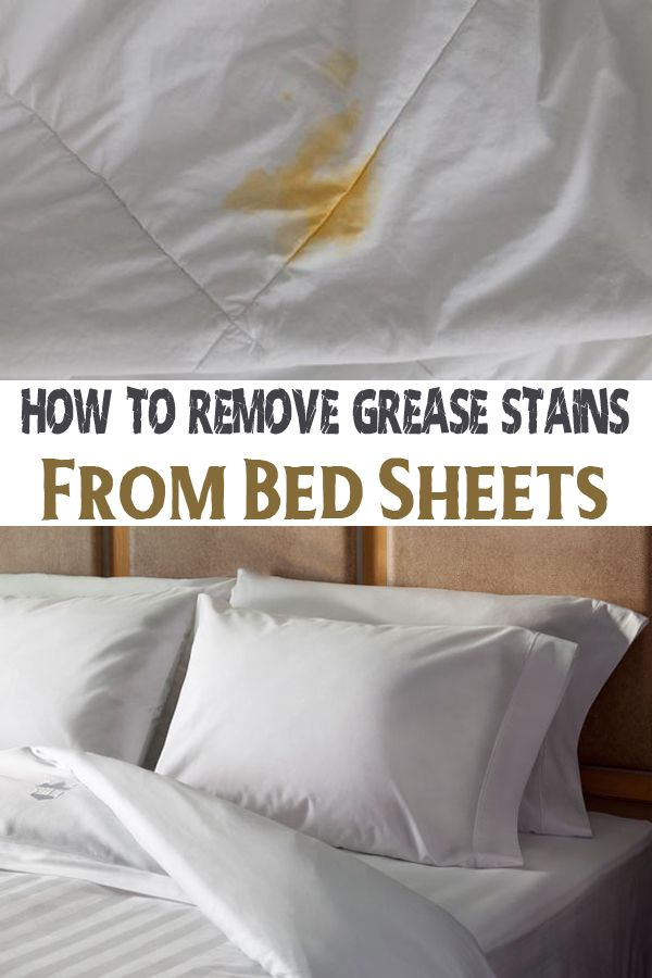 how to remove grease stains from bed sheets grease stains and deep cleaning. Black Bedroom Furniture Sets. Home Design Ideas