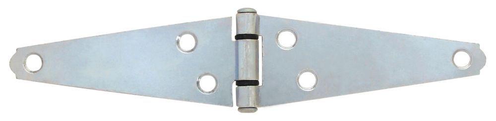 4 inch zinc heavy strap hinge strap hinges home depot zinc