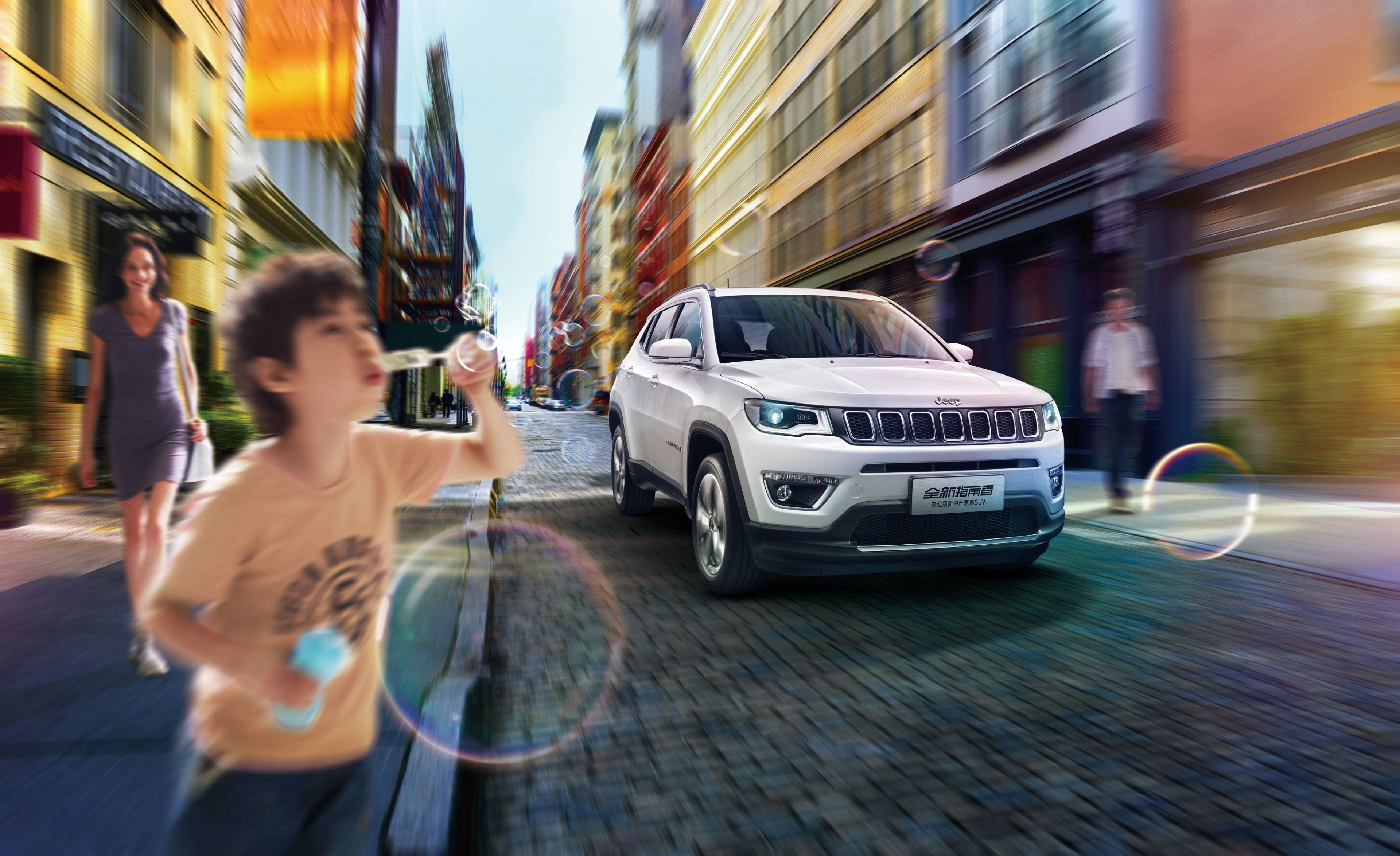 3840x2348 Jeep Compass Limited 4k New Image Wallpaper