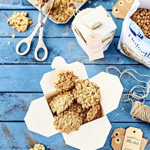 Kolln De Kolln Haferfleks Kekse Rezept Kekse Kekse Lebensmittel Essen