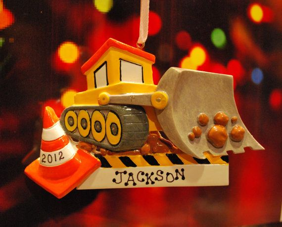 Hallmark keepsake christmas ornament tonka giant bulldozer qx