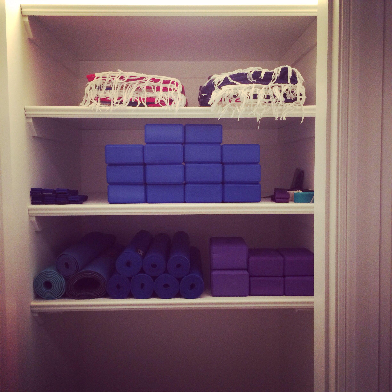 Yoga closet