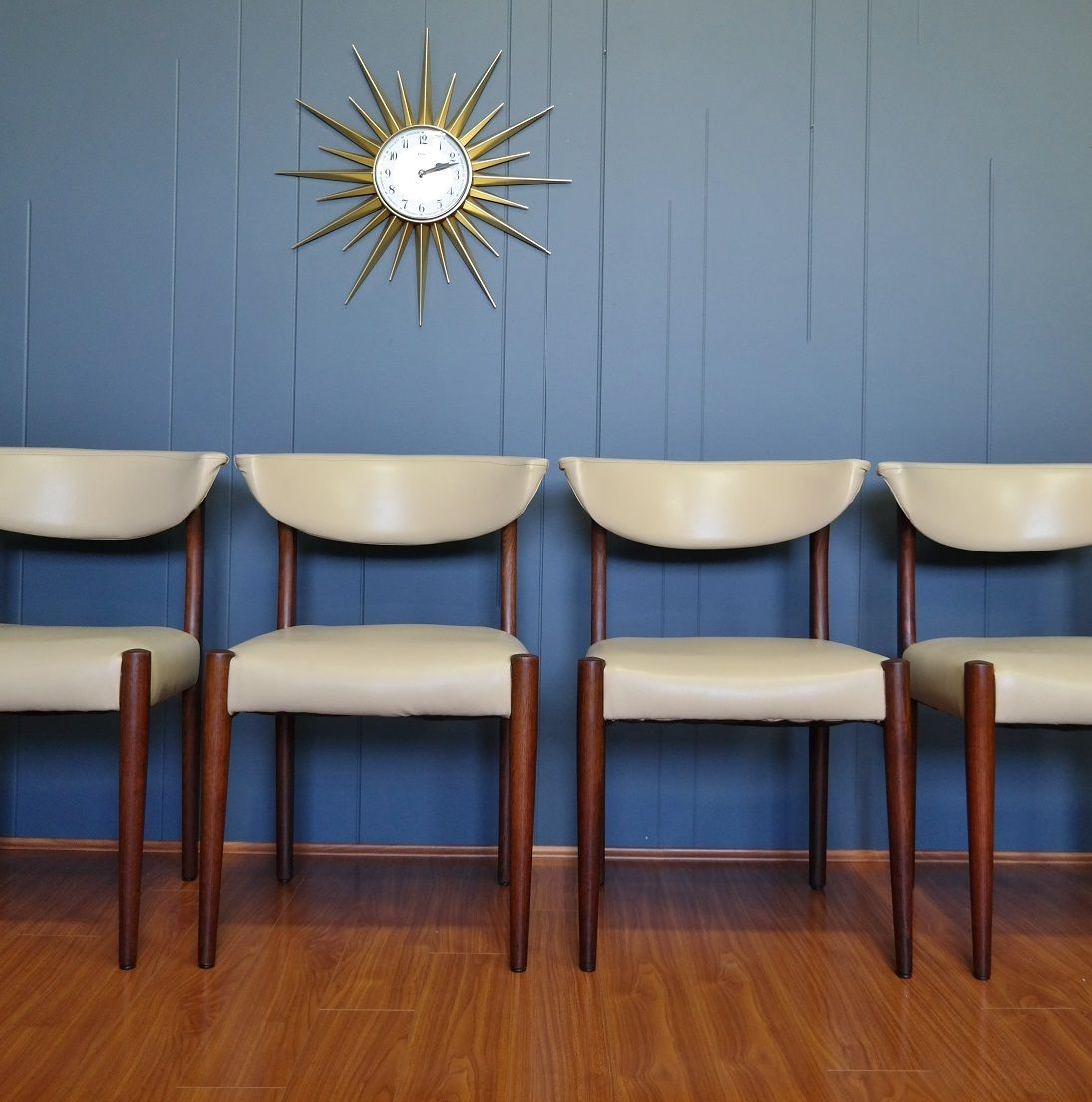 Set of 4 :: 1960s Teak Dining Chairs - Gold Label Vintage | Mid ...