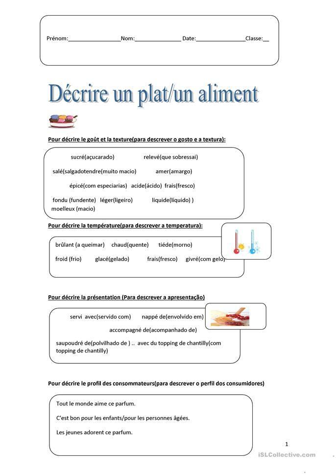 Pin On Activites Frances 2
