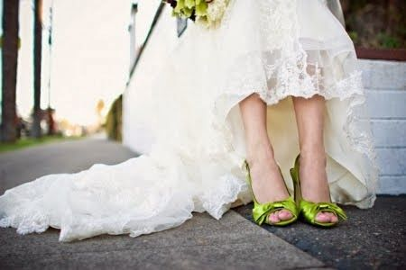 Asombrosos zapatos de novia   Moda y Tendencias