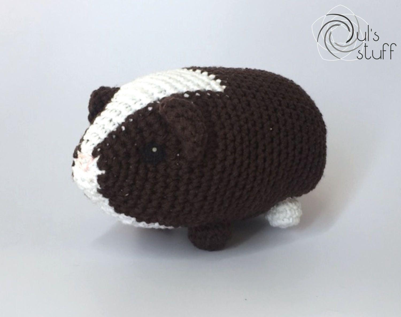 Cuyo de crochet, amigurumi, cuyo, cuyo amigurumi de DulsStuff en Etsy