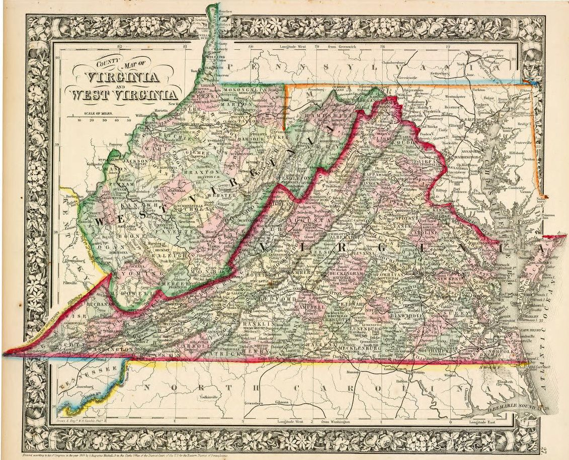 Most of the fighting during the Civil War took place in northern