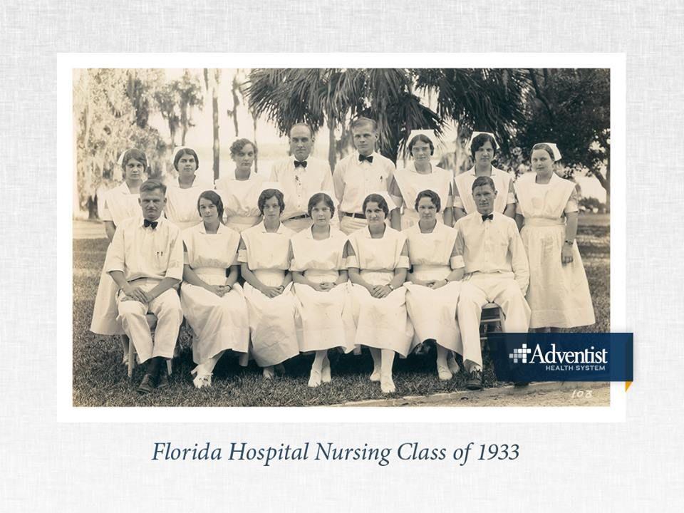 Florida Hospital Orlando began training nurses as early as