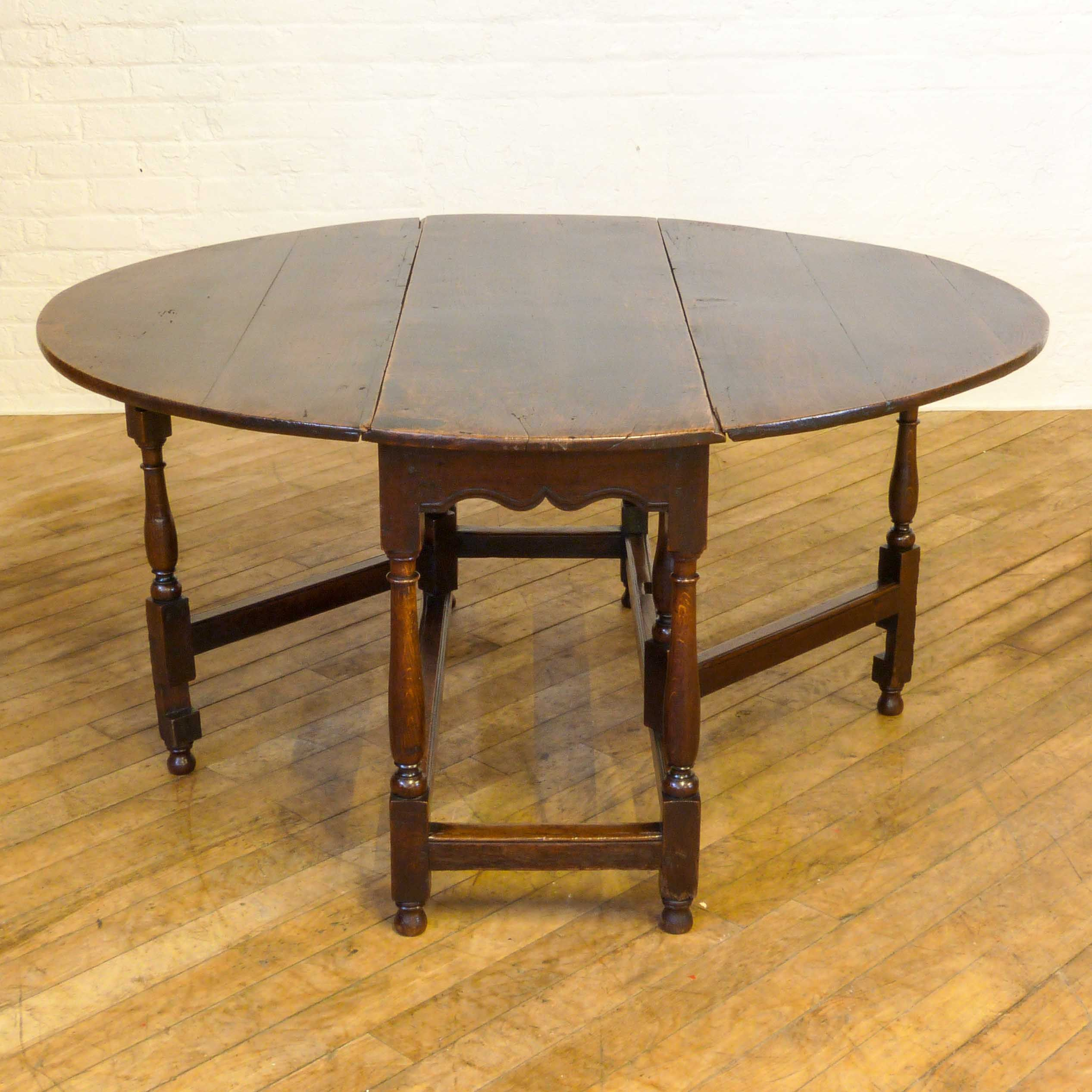 Antique wood dining tables georgian oak gateleg table  circa   witchantiques