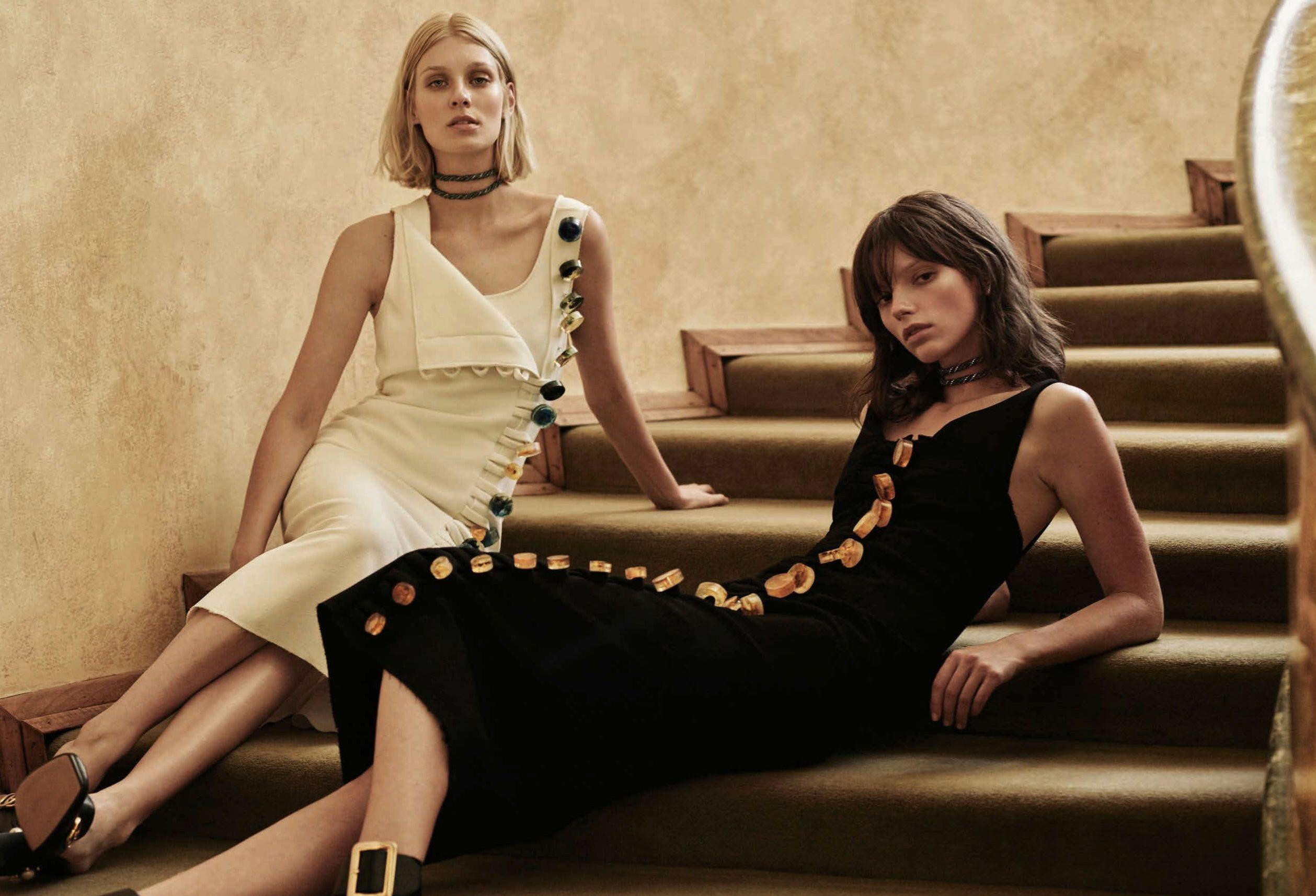 Katie Braatvedt, Freya Sombroek, Emilia Senko by Jake Terrey for Harper's Bazaar Australia April 2016 6