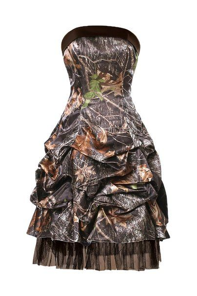 5cdb0783e4c Vienna Bride Strapless Short Senior Camo Homecoming Cocktail Graduation  Dress  Amazon Fashion