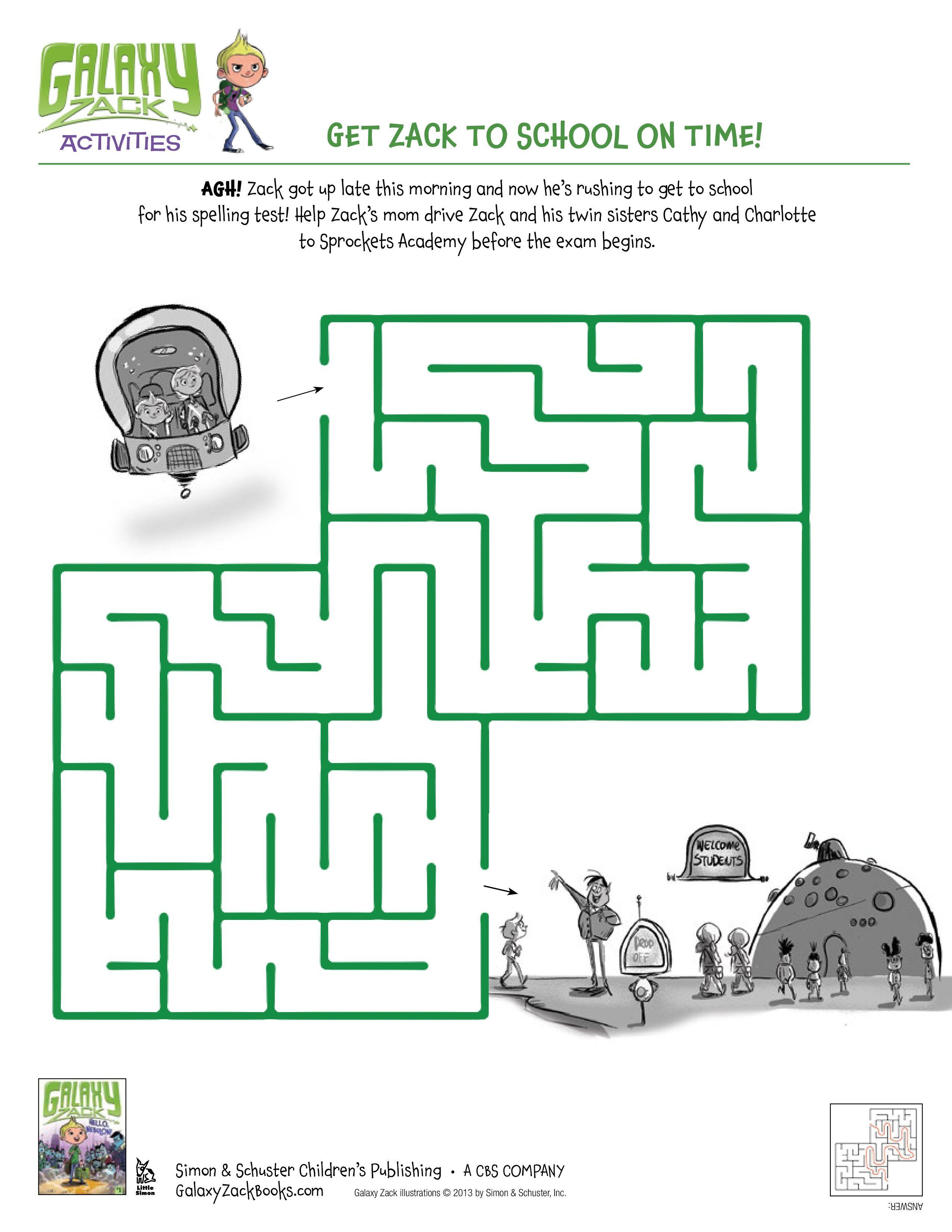Galaxy Zack - Maze | Amazing Mazes | Pinterest | Maze