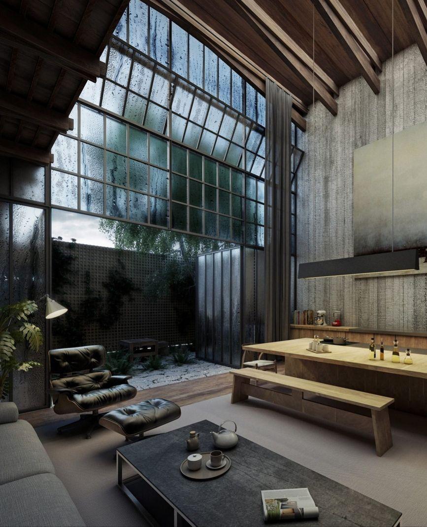 Loft Style House Loft Style Homes Loft Design Concrete House