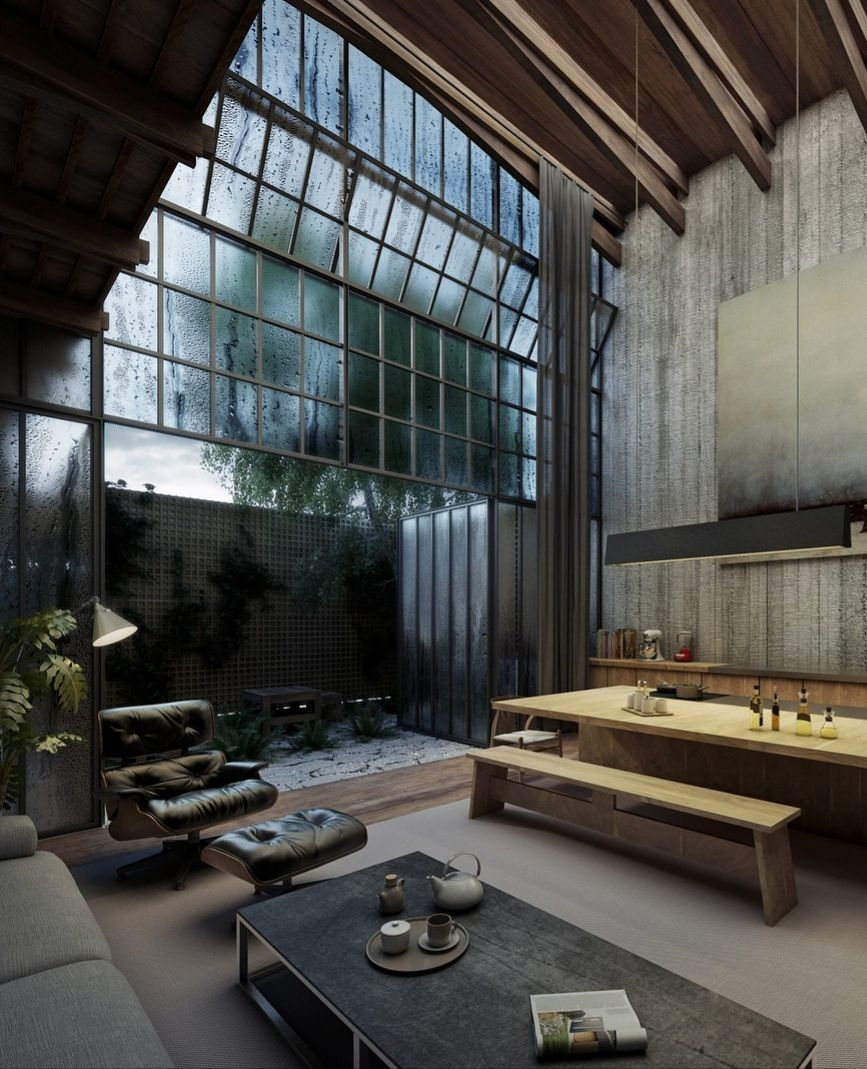 Loft Style House Proektirovanie Doma Arhitektura Doma Plan Doma