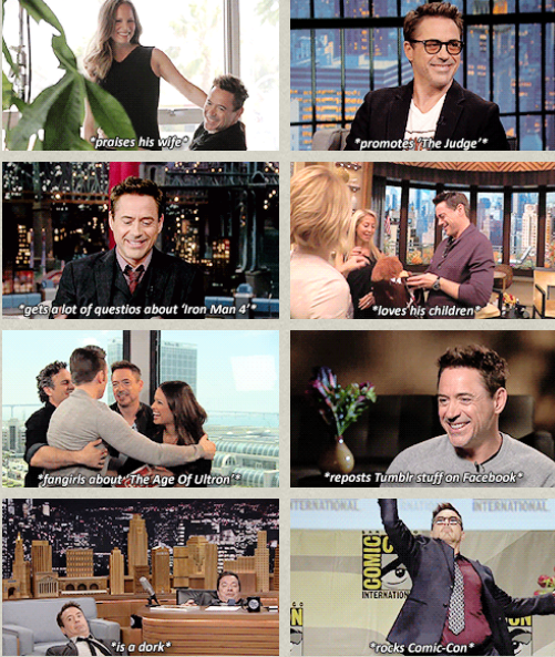 Robert Downey Jr's Year of 2014- Just Amazing :)