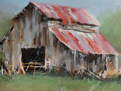 Old Barn Barns Pinterest Barn Paintings And Watercolor