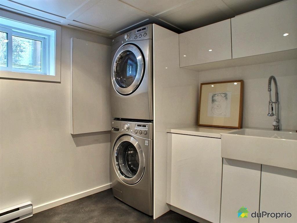 Salle de lavage salle de bain pinterest laundry for Petite salle de bain pratique