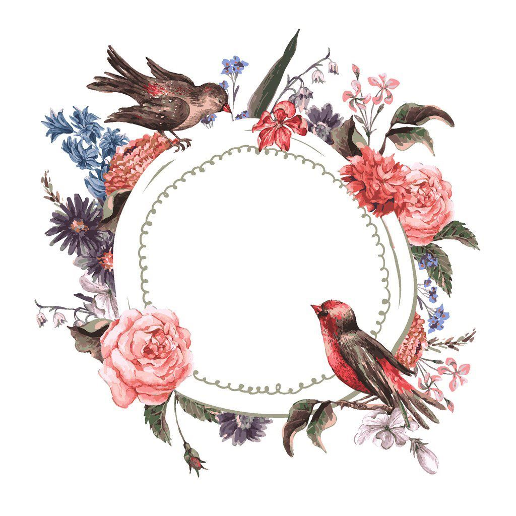 Новости imagens molduras pinterest shabby miniatures and bird