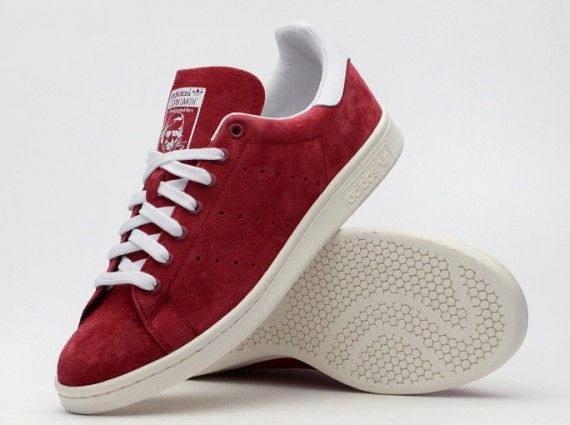 the best attitude b8789 a181a adidas originals stan smith suede normad red 01 570x425 adidas Stan Smith  St Nomad Red
