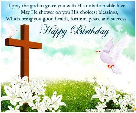 Free Christian Birthday Greetings Religious Birthday