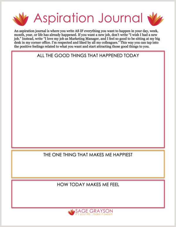 Worksheets - Sage Grayson Coaching | Business Coaching | Pinterest ...