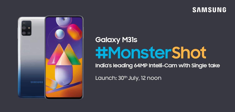 Samsung Galaxy M31 Monster Shot Samsung Galaxy Samsung Galaxy