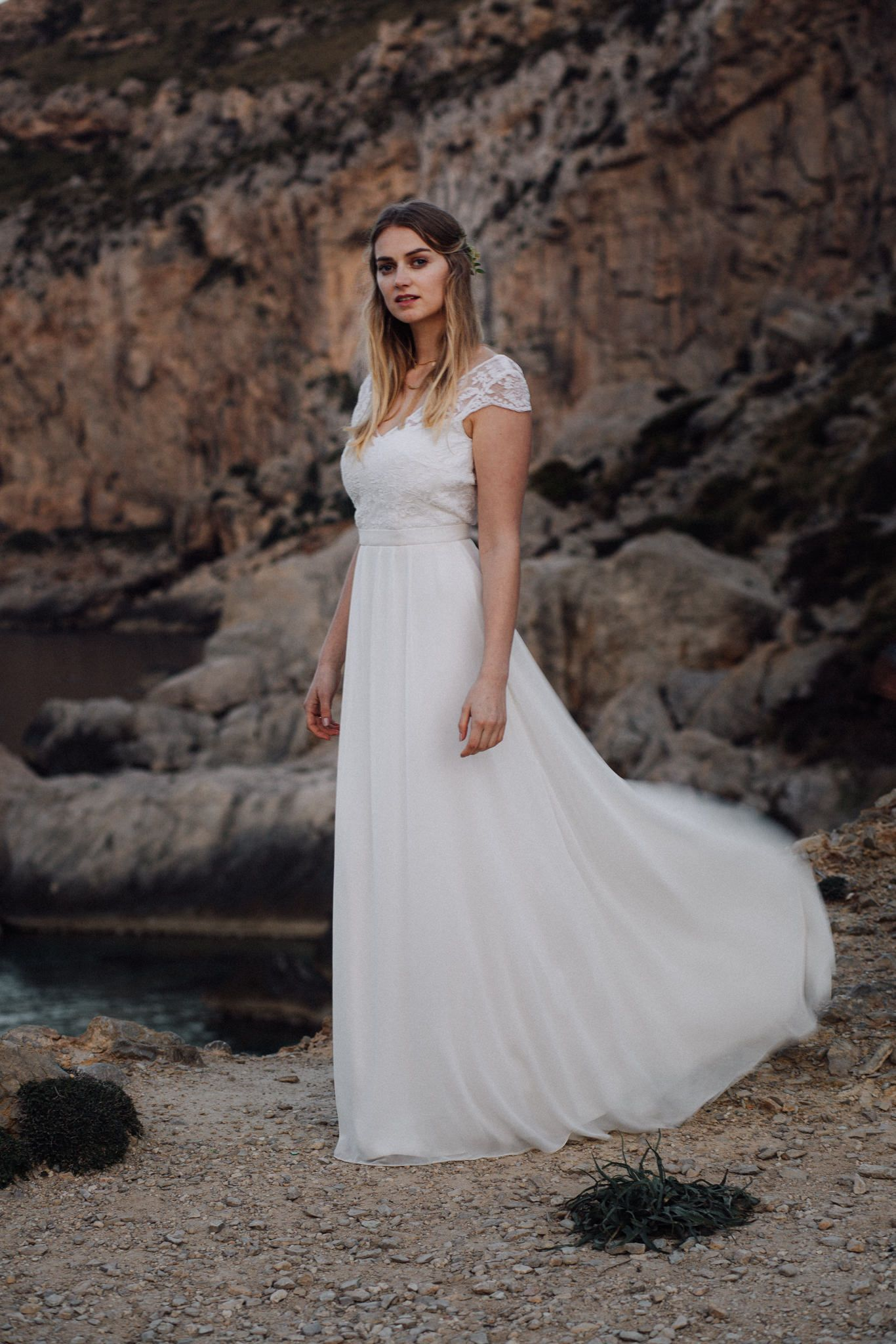 Wedding dress by Light & Lace // H&M by Ready to Marry ...