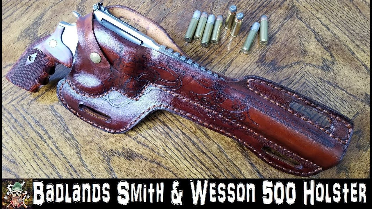 Badlands Smith & Wesson 500 Holster | leather | Leather