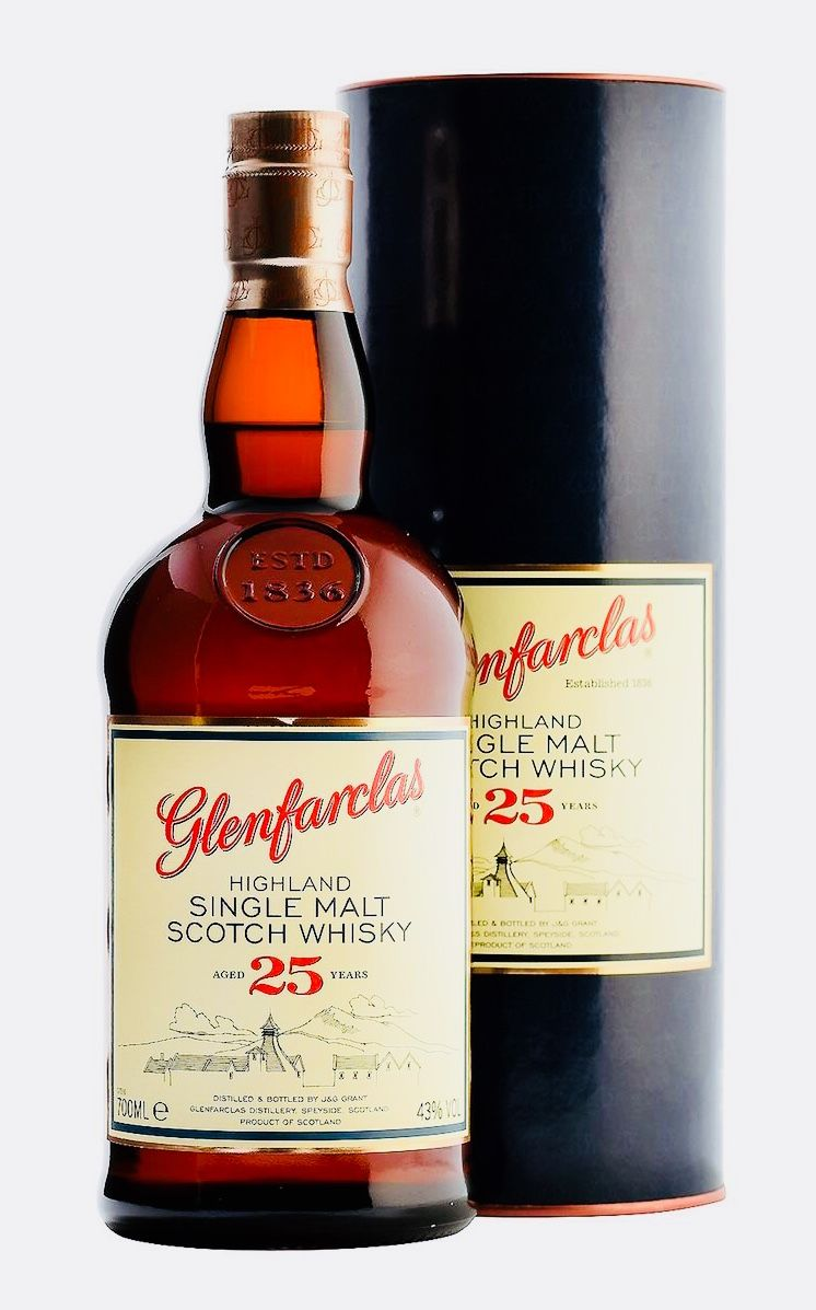 Glenfarclas 25 Year Old Speyside Whiskey Bar Malt Whisky Whisky Collection