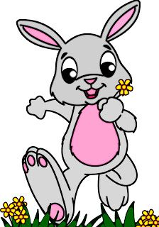free easter rabbit clipart classroom treasures free clip art rh pinterest co uk easter rabbit clip art in black and white easter rabbit clipart free