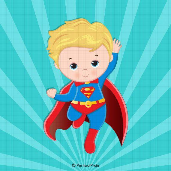 Super Baby Clipart Superhero Baby Boy Clipart Baby Boy Etsy In 2021 Baby Clip Art Clip Art Superhero Clipart