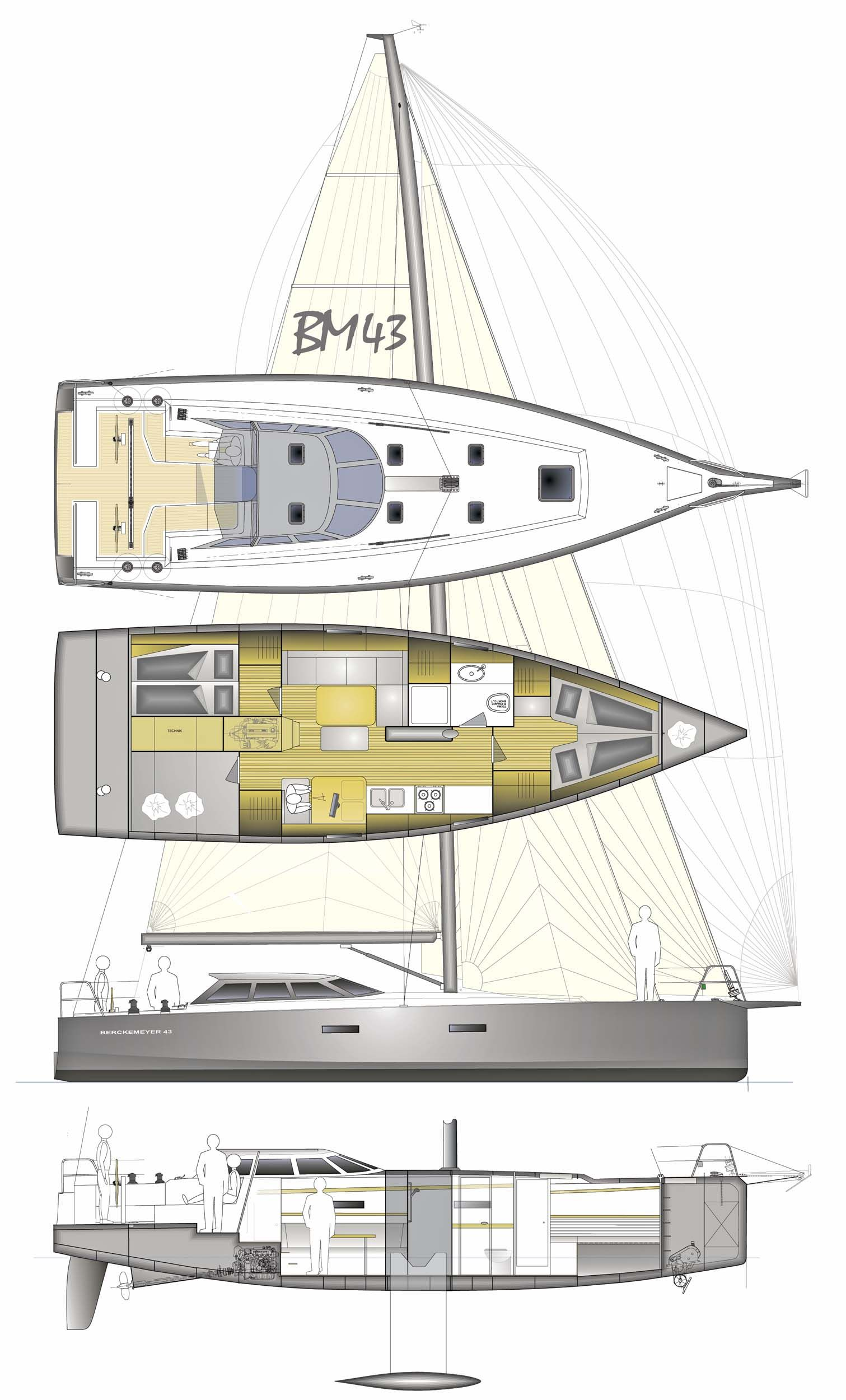 berckemeyer yacht design plans for modern and classic sailing