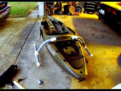 Easy Homemade Kayak Outriggers Pontoons Stabilizers