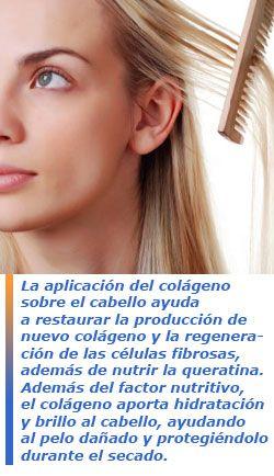 El col geno y su aplicaci n capilar colageno collagen pinterest - Alimentos con colageno hidrolizado ...