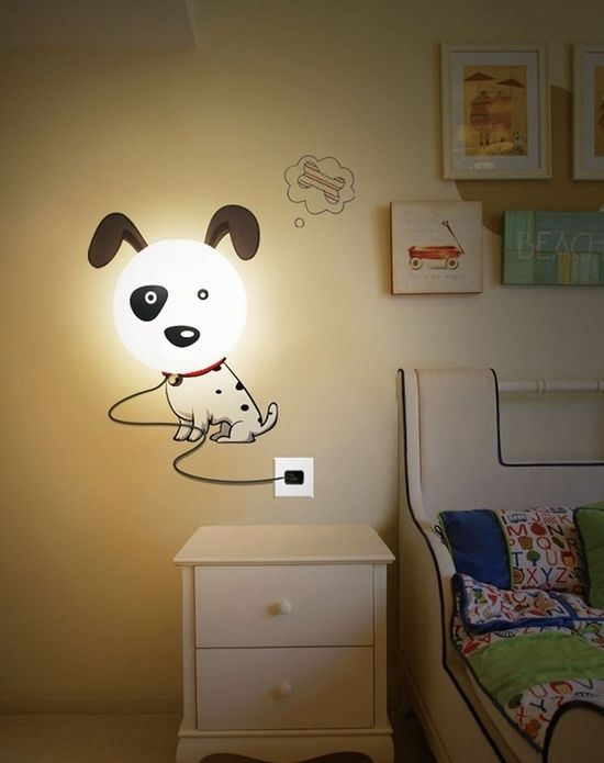 Hundelampe Wand Ideen Designer Lampen Kinderzimmer