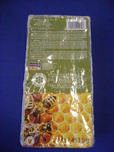 White Beeswax 1 Pound Block Artminds | eBay