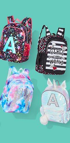 Girls 39 Clothing Dresses Tops Activewear Amp More Justice Backpacks Cute Backpacks Justice Backpacks