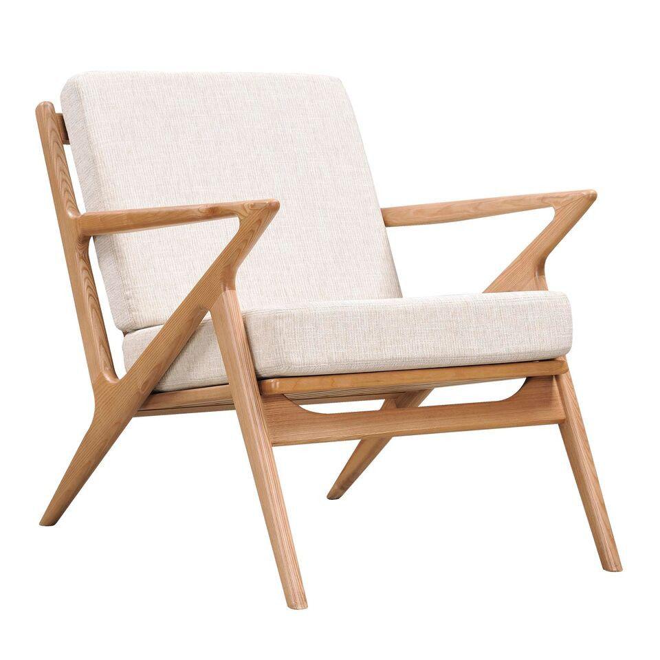 Poul Jensen Style Oatmeal Gray Selig Z Chair Natural, EMFURN   1