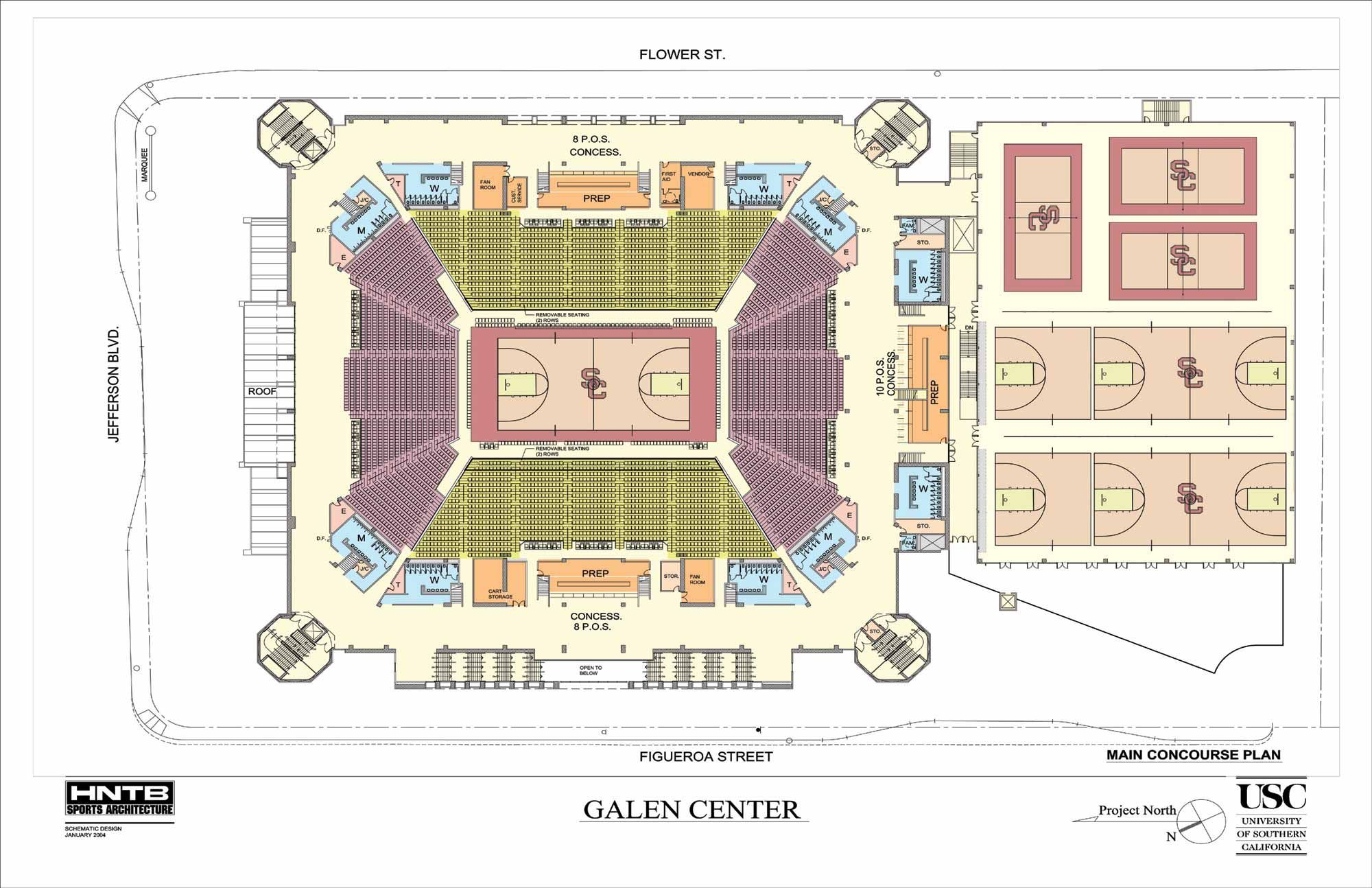Netball Court Diagram Layout Delphi Radio Wiring Galen Center Floor Plan Sport Complex Pinterest